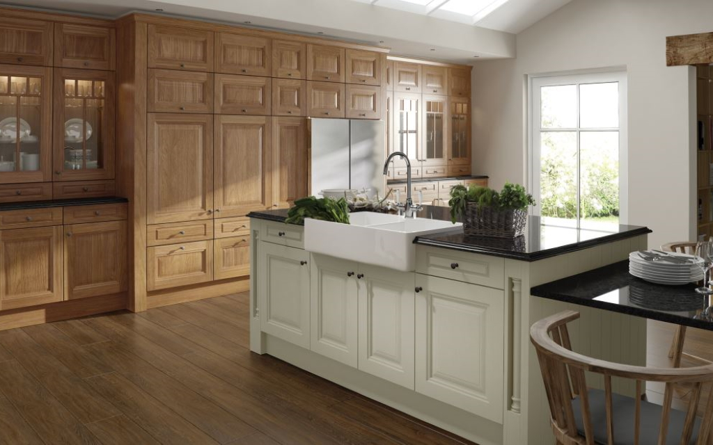 Classic Handleless kitchens from Mayflower Kitchens