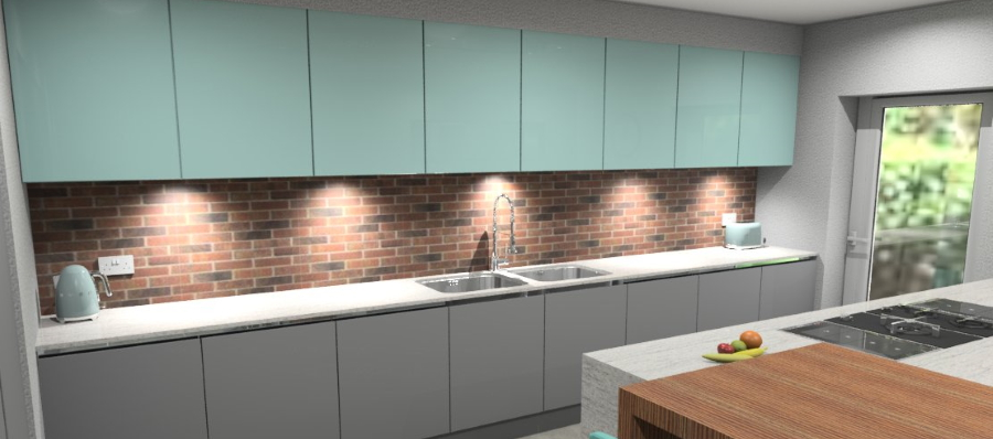 Kitchen design from Mayflower kitchens example 2
